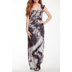 Bobeau Tie Dye Maxi Dress